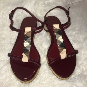 Burberry sandals in excellent condition size 37/7